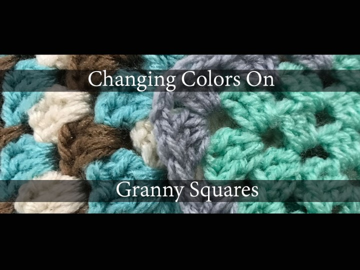 How to change colors when working with GrannySquares.