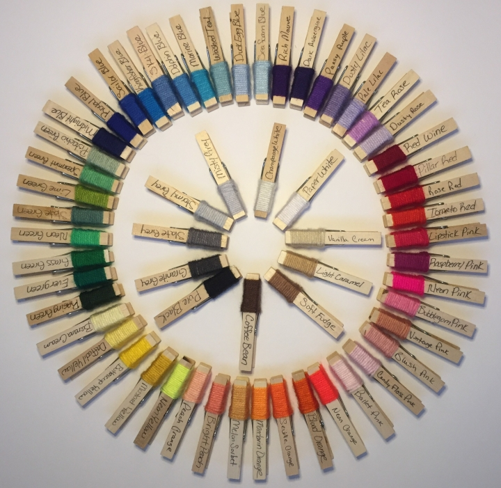 Paintbox Yarns Color Pegs Are Here!